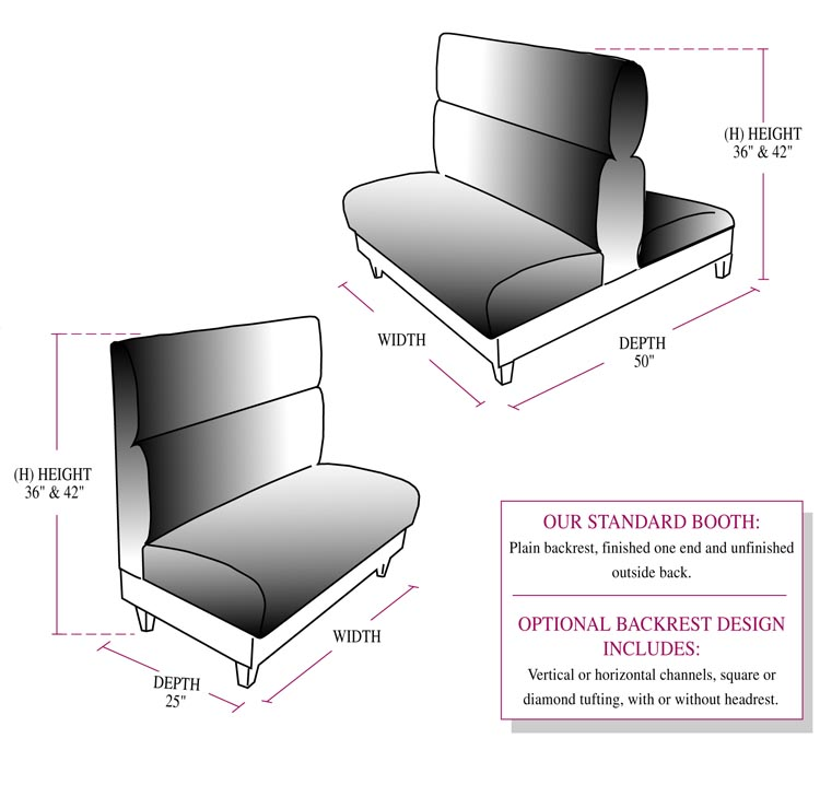 Restaurant Seating Furniture Rendering