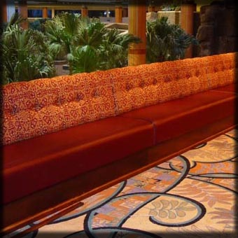 Casino Bench Seating; Verona, New York