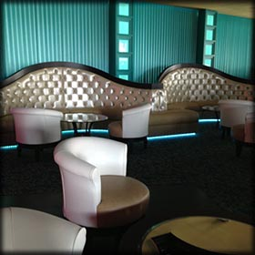 Commercial Lounge Banquette Seating For Sale